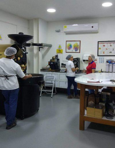 Planta procesadora de Café Tima