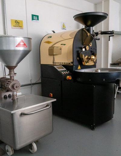 Tostadora y Molino de café